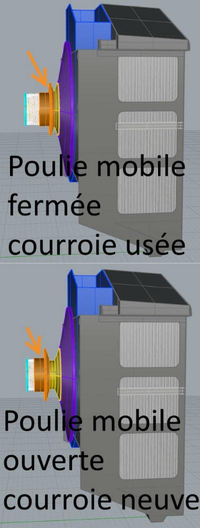 FT-17 Takom 1:16 - Page 3 Poulie-ventilateur